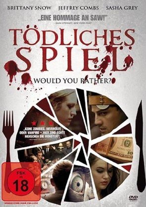 tödliches spiel - would you rather horrorfilme