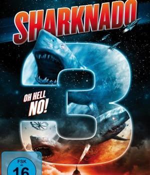Sharknado 3 cover