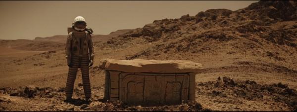 Ein Bauwerk auf dem Mars in MISSIONS