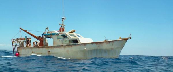 Das Boot, das zum Tauchort fährt - 47 METERS DOWN