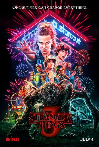 Stranger Things Staffel 3 - Cover