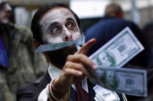 Geldstehlende Zombies?