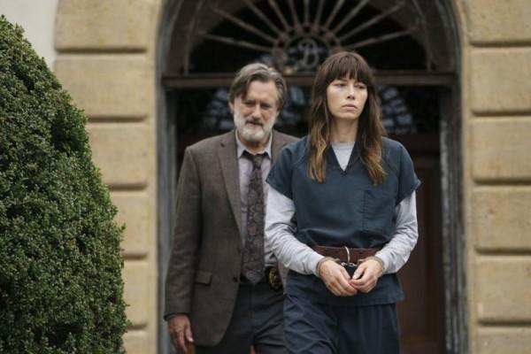 Cora und Detective Ambrose in THE SINNER