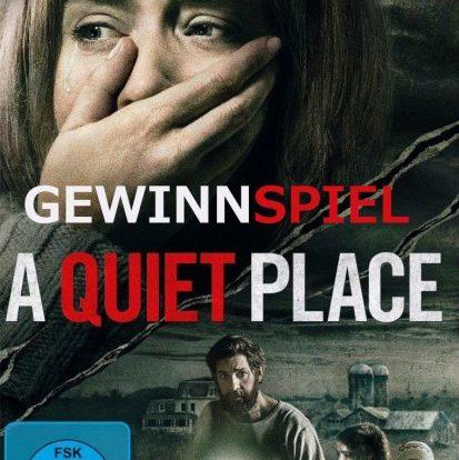 Gewinnspiel: A QUIET PLACE - 2 Discs zu gewinnen
