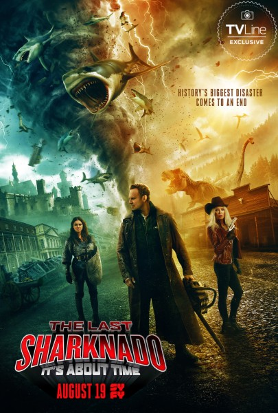 Review: SHARKNADO 6 - THE LAST ONE (2018)