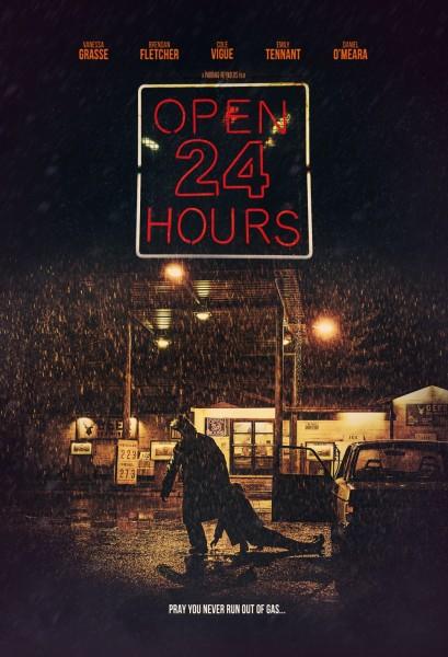 News: OPEN 24 HOURS - Poster und Trailer zum Slasher