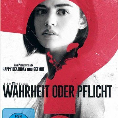 Gewinnspiel: WAHRHEIT ODER PFLICHT - DVD und Blu Ray zu gewinnen