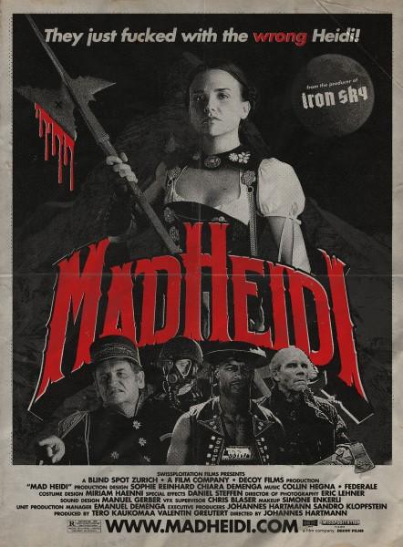 News: MAD HEIDI - Trailer und Poster zum ersten Swissploitation Film