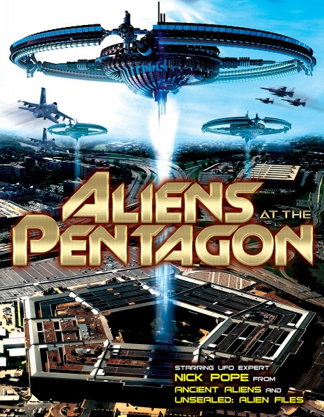 News: Poster und Trailer zu ALIENS AT THE PENTAGON erschienen