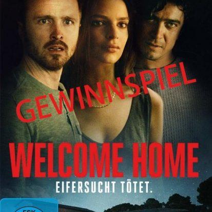 Gewinnspiel: 3 Blu Rays von WELCOME HOME