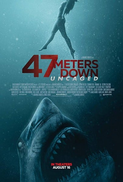 News: 47 METERS DOWN: UNCAGED - Trailer zum Sequel