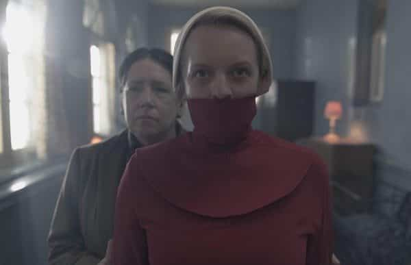 The Handmaid's Tale - June mit Maulkorb