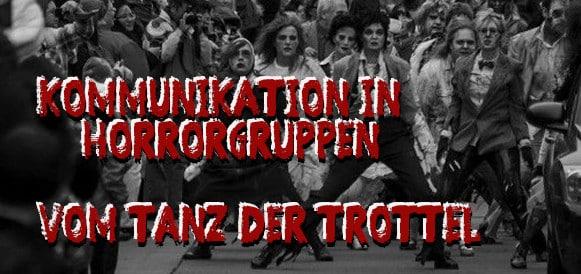 kommunikation in horrorgruppen vom tanz der trottel