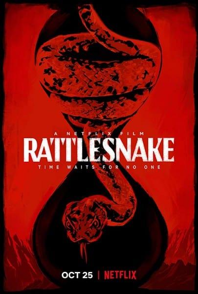 rattlesnake der biss der klapperschlange