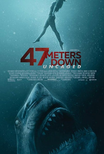 47 Meters Down: Uncaged: Cover