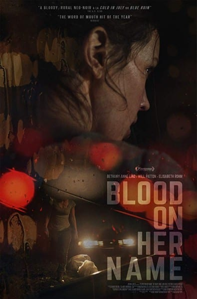 News: Trailer zum Neo-Noir-Thriller BLOOD ON HER NAME