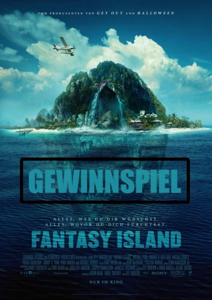 Gewinnspiel: Fantasy Island - Kinotickets & more