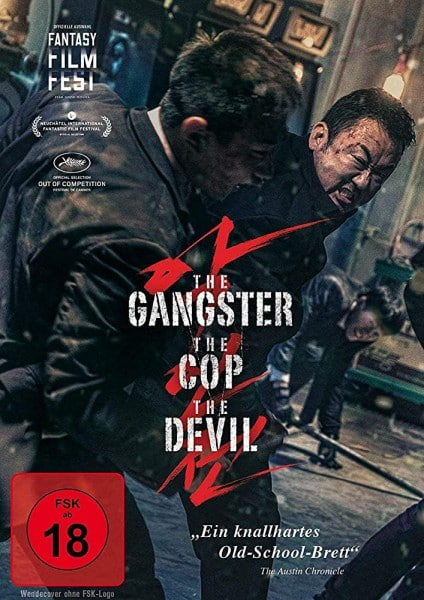 The Cop, The Gangster, The Devil - Cover