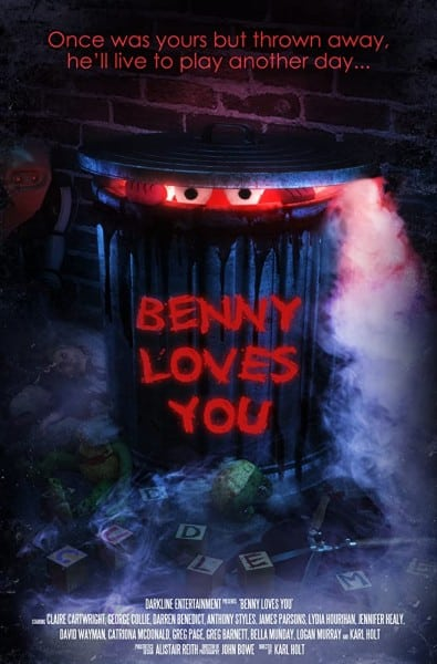 Benny loves you trailer horror