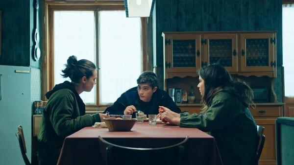 Curon: Daira, Anna und Mauro