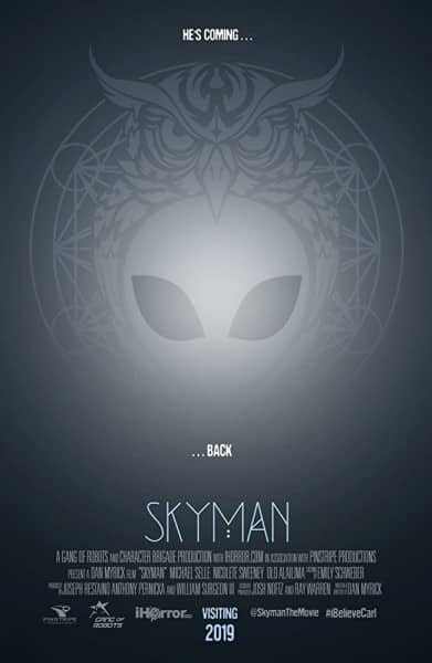 News: Neuer Alien - Horror SKYMAN vom BLAIR WITCH PROJECT Regisseur